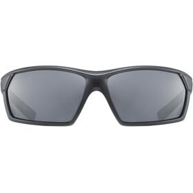 UVEX Sportstyle 225 Occhiali, black mat/litemirror silver